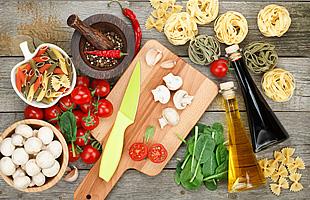 野菜と調味料